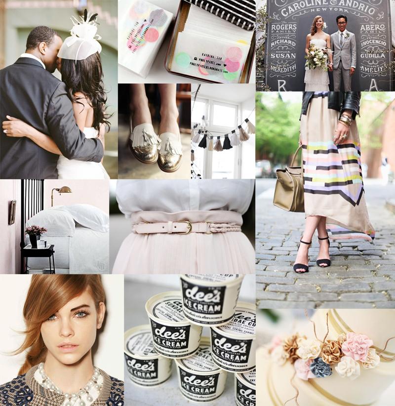 Modern-Pink-Gold-Black-Wedding-Inspiration-Board