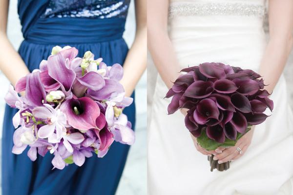 Purple-Calla-Lily-Wedding-Bouquets