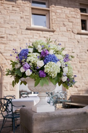 Purple-and-Green-Flower-Arrangement
