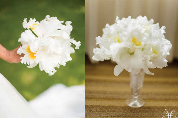 Ruffled-White-Orchid-Bouquet