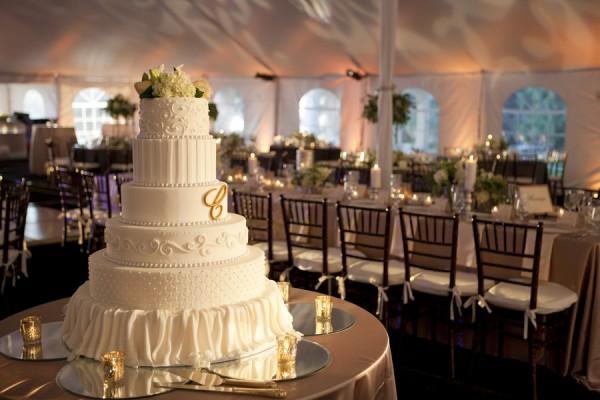 Tall-White-Tiered-Wedding-Cake