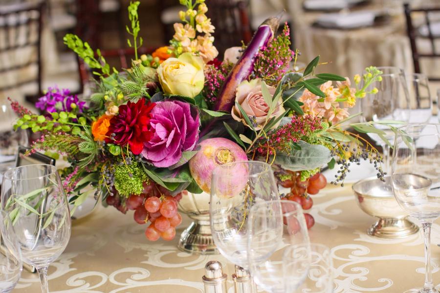 Vegetable-Wedding-Centerpiece