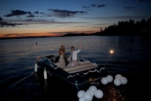 Wedding-Boat-Getaway