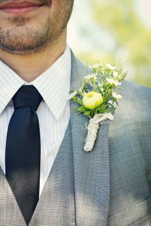 Wildflower-Boutonniere