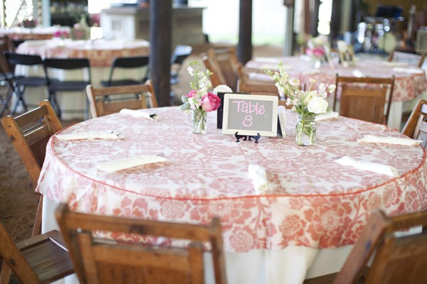 Coral Table Cloths