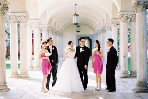 Elegant-Pink-Bridal-Party