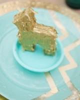 Gold-and-Aqua-Plates