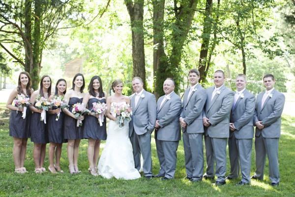 A bridal party where a hunk do sexy dance 9