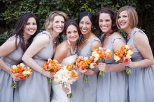 Grey-and-Orange-Bridesmaids