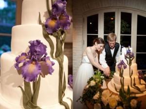 Iris-Decorated-Cake