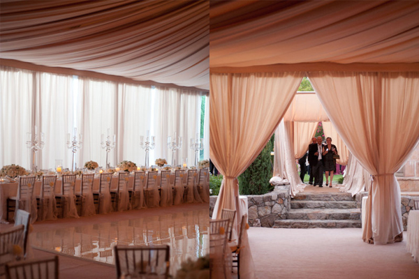 Wedding Decor: Draping