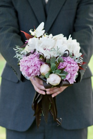 Lavender-and-Chocolate-Brown-Bouquet
