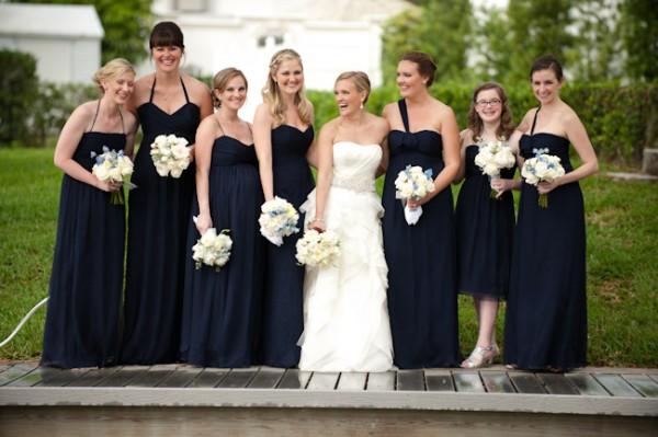 Long-Navy-Bridesmaids-Dresses