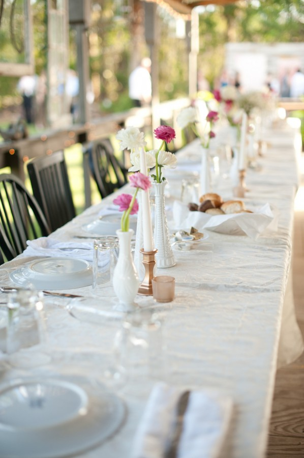 Milk Glass Bud Vases Elizabeth Anne Designs The Wedding Blog