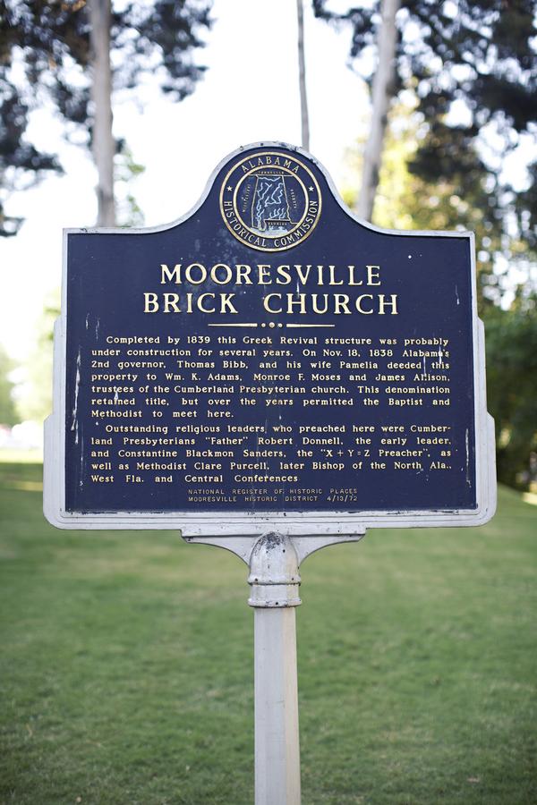 Mooresville Brick Church Sign Elizabeth Anne Designs