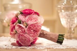 Pink-Rose-Wedding-Bouquet