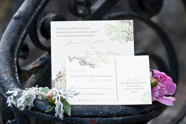 Purple-Green-Letterpress-Wedding-Invitations