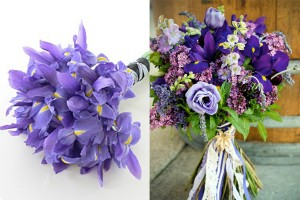 Purple-Iris-Bouquets