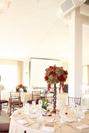 Tall-Red-and-Green-Wedding-Centerpiece