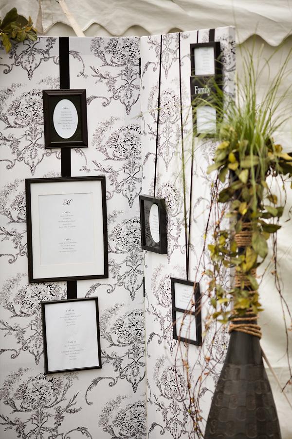 Vintage-Frame-Seating-Chart - Elizabeth Anne Designs: The Wedding Blog