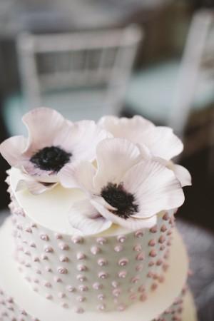 Anemone-Cake-Topper