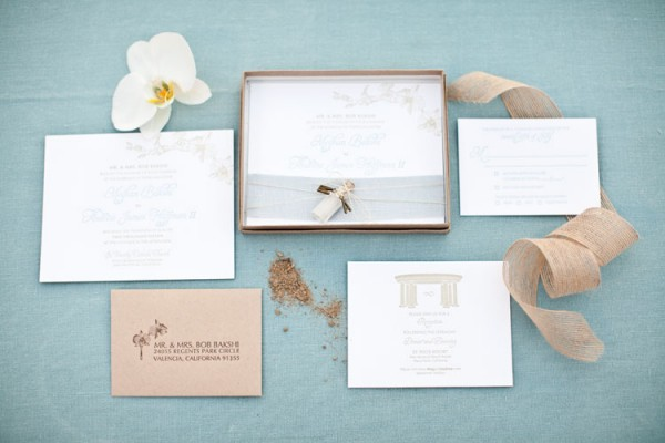 Beach Inspired Wedding Invitations