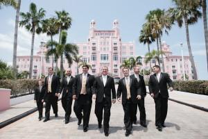 Black and Gold Wedding Tuxedos 2