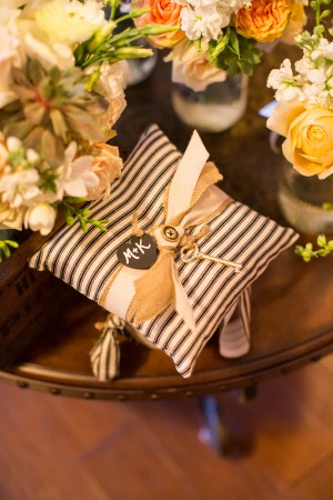 Black-and-White-Striped-Wedding-Ring-Pillow