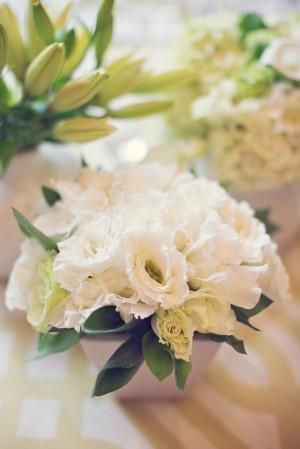 Classic White Wedding Centerpiece 1