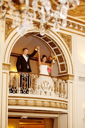 Colorful and Elegant Detroit Wedding by JenLynne Photography 1
