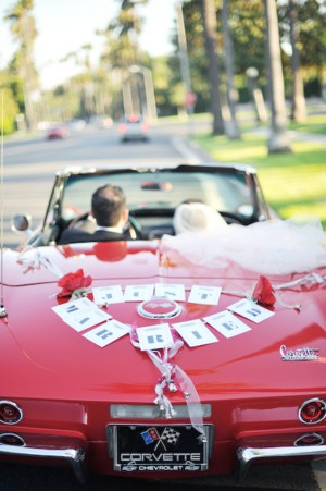 Corvette-Wedding-Getaway-Car