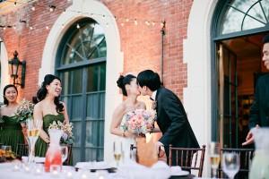 Elegant Coral California Wedding by Connie Lyu 1