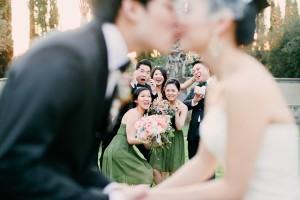 Elegant Coral California Wedding by Connie Lyu 2
