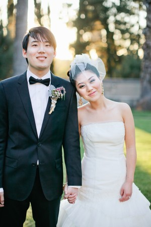 Elegant Coral California Wedding by Connie Lyu 4