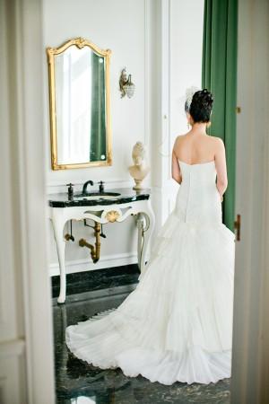 Elegant Coral California Wedding by Connie Lyu 5