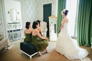 Elegant Coral California Wedding by Connie Lyu 6