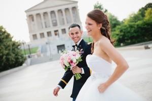 Elegant Nashville Military Wedding by Kristyn Hogan 2