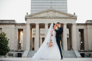 Elegant Nashville Military Wedding by Kristyn Hogan 4