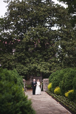 Elegant Pink And Gray Wedding 7