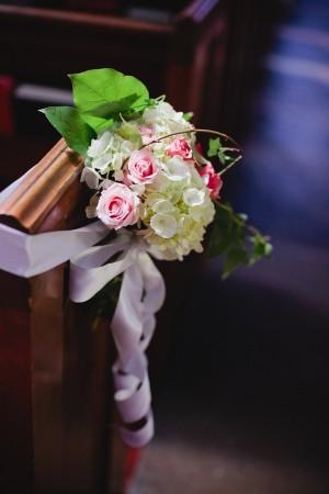 Elegant Wedding Ceremony Aisle Decor