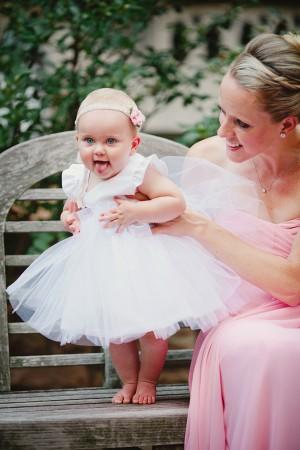 Elegant Wedding Cute Flower Girl Dress