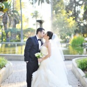 Intercontinental hotel los angeles wedding from hazelnut for Saks fifth avenue wedding dresses los angeles