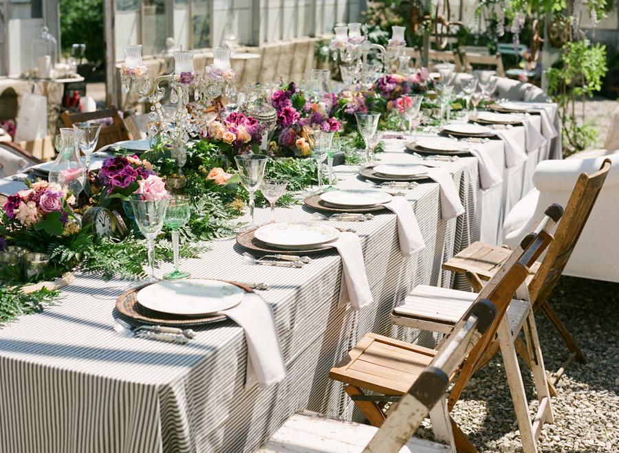 Farm Table Wedding Reception Elizabeth Anne Designs The