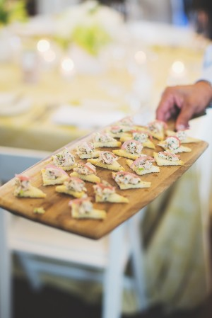 Floating Appetizers Wedding