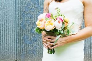 Garden-Rose-Weddin-Bouquet