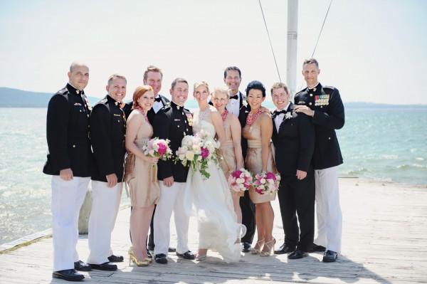 Lakeside Michigan Military Wedding by Amy Carroll 1