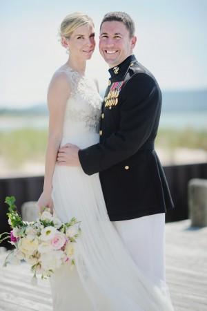 Lakeside Michigan Military Wedding by Amy Carroll 4