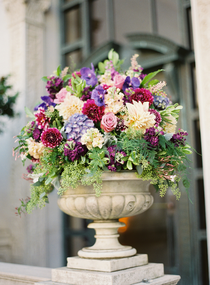Terms And Conditions >> Large-Burgundy-and-Purple-Wedding-Floral-Arrangement