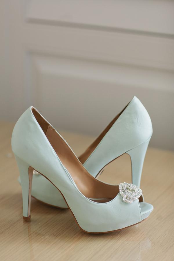 light blue wedding shoes elizabeth anne designs the