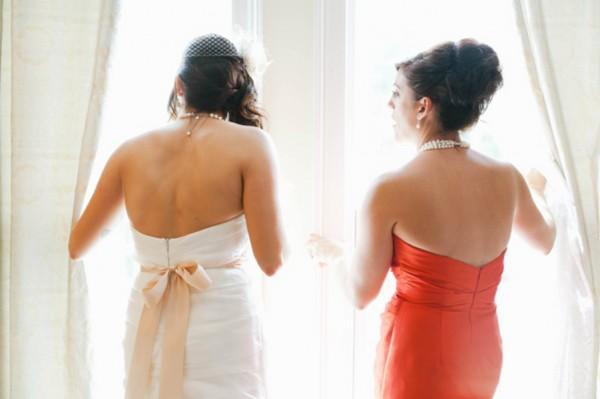 Orange-Bridesmaid-Dress